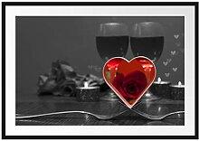 Picati Valentinstags Dinner Bilderrahmen mit