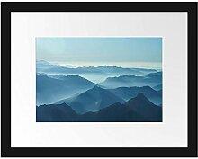 Picati Wunderschöne Alpenberge Bilderrahmen mit