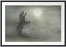 Picati Zombie Erwachen Bilderrahmen mit