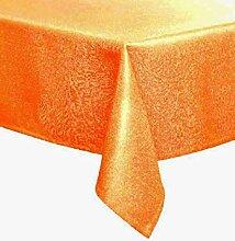 Pichler Tischdecke 130x170 cm eckig Fino orange