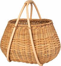 Picknick-Korb aus Rattangeflecht