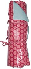 Picknickdecke DOTTIE DOT Punkte 140x180cm pink blau A.U Maison (94,95 EUR / Stück)