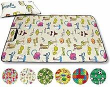 Picknickdecke Fotodruck, Auswahl: Größe - 100x70 cm - inkl. Kissen Design - Beach, Reiseunterlage Campingdecke Stranddecke