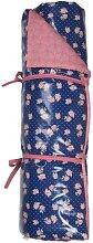 Picknickdecke Rosen & Wellen 70x180cm blau pink A.U Maison (49,95 EUR / Stück)