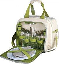 Picknicktasche für 4 Personen mit Kühlfach 38x26x28 cm Esschert Design (49,95 EUR / Stück)