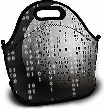 Picknicktaschen,Programmer Ball Binary Code Lunch