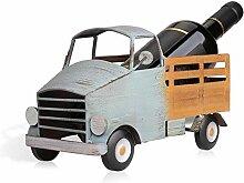 Pickup Truck Weinregal Weinregal aus Metall Figur