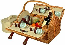 Picnic at Ascot Yorkshire Picknick Korb für 4,