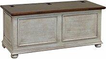 Pieffe Mobili Sitzbank-Truhe, Holz, Weiß Decapè,