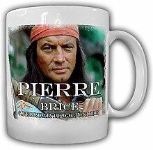Pierre Brice Winnetou Bild Foto Portrait 06.06.2015 Schauspieler- Tasse Kaffee Becher #15417