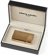 Pierre Cardin Feuerzeug gold Muster