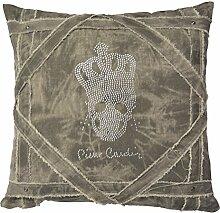 Pierre Cardin Skull Kissenbezug mit Füllung und