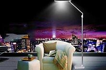 PIGE Kreative moderne einfache Stehlampe Led R.Aug.Lampe Wohnzimmer Schlafzimmer Nacht Study Long Arm Klavier Licht ( Farbe : Silber )