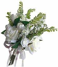 Pigeon Fleet Künstliche Blume Brautstrauß Rose