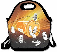 Pill Play Party Insulated Lunch Bag With