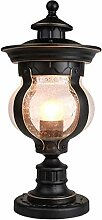 Pillar-Lampe, Straßenlaterne Außenleuchte Rost-