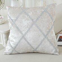 pillow cushions,sofa office bed soft bag pillowcase-B 42x42cm(17x17inch)VersionA