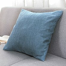 Pillow-hugging pillowcase,sofa cushion ,office cars pillow-G 55x55cm(22x22inch)VersionB