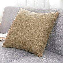 Pillow-hugging pillowcase,sofa cushion ,office cars pillow-L 45x45cm(18x18inch)VersionA