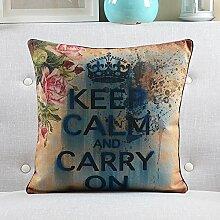 Pillow pillow Amerikanische Sofa-Kissen Bed Hug