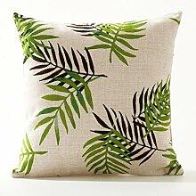 Pillow pillow Baumwolle Leinen Kissen- lumbalen