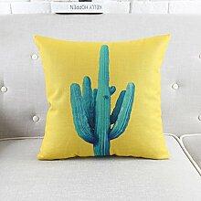 Pillow pillow pflanze kissen verdickte baumwoll-