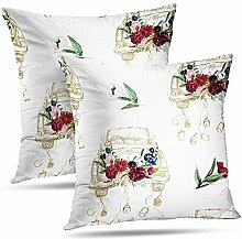 Pillowslip Cars Watercolor Pillowcase