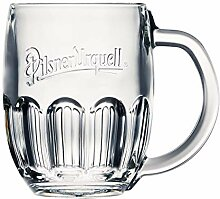 Pilsner Urquell 6 Stück Glas 0,3l Bierglas Humpen