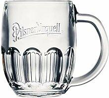Pilsner Urquell 6 Stück Glas Halbliterglas 0,5l