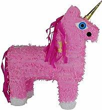 Pinata Einhorn Samira rosa aus Pappmaché zum Füllen Kinderparty Kindergeburtstag