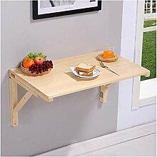 Pine Wood Wandtisch Klapptisch,schwimmender Tisch