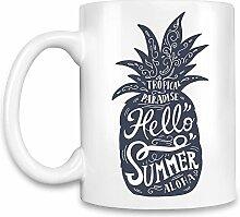 Pineapple Kaffee Becher