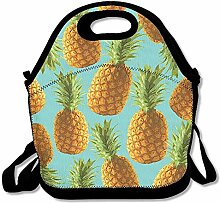 Pineapple Unisex Lunch Box Food Bag Lunch Bag For