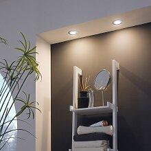 Pineda LED Einbauleuchte 500lm Chrom