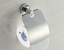 pingofm WC-Serviette Box Edelstahl WC PAPER TRAY Bad Sanitär Mülleimer WC-Papier Handtuch Rack Wasserdicht Rolle–WC-tray-mesh Gürtel Roller Y08 European