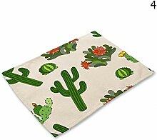 Pingrog 1 Pc Farbe Gedruckt Baumwolle Kaktus