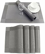Pingrog Tisch Sets Fashion Pvc Esstisch Matte Disc