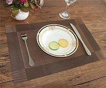 Pingrog Tischset Fashion Pvc Esstisch Matte Disc