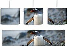 Pinguine inkl. Lampenfassung E27, Lampe mit