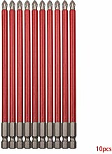 PINH-lang Bitsätze,10pcs PH2 150mm Bohrer Set