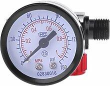 PINH-lang Manometer,Spritzpistole Luftregler G1 /