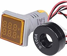 PINH-lang Strommessgeräte,Digital Square LED AC