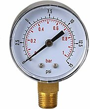 PiniceCore 0/15 PSI 0/1 Bar Manometer