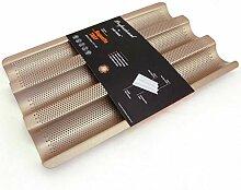 PiniceCore 3-Slot-Non-Stick Goldenes Baguette