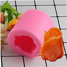 PiniceCore 3D Rose Blumen Silikon Formen Fondant