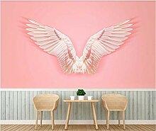 Pink Angel Wings Tapete 3D Shop Hintergrundbild
