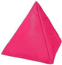 Pink Baumwolle Stoff Dreieckige Jonglieren Sitzsack Garten Spiele PE Sport-