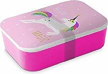 Pink Einhorn Unicorn Brotdose Lunch Box 900 ml