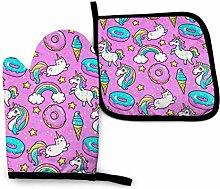 Pink Horse Donut Regenbogen EIS Sterne Sterne
