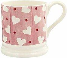 Pink Love Picture Mug, 300 ml, beste Keramik,